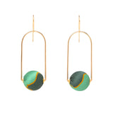 Liberty Silk Tall Arch Earrings