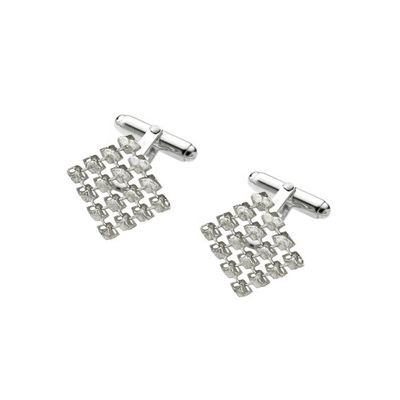 'RESONANCE' cufflinks 925 sterling silver