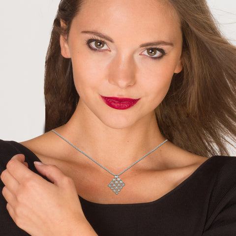 'RESONANCE' necklace silver