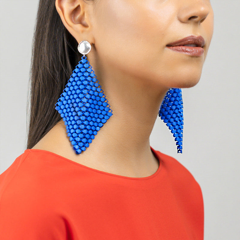 FABNORA | Bright Blue | Earrings L