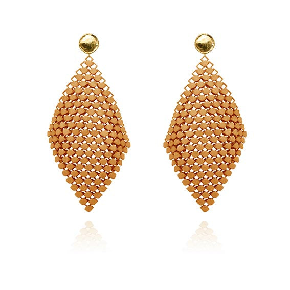 FABNORA | Amber Glow | Earrings L