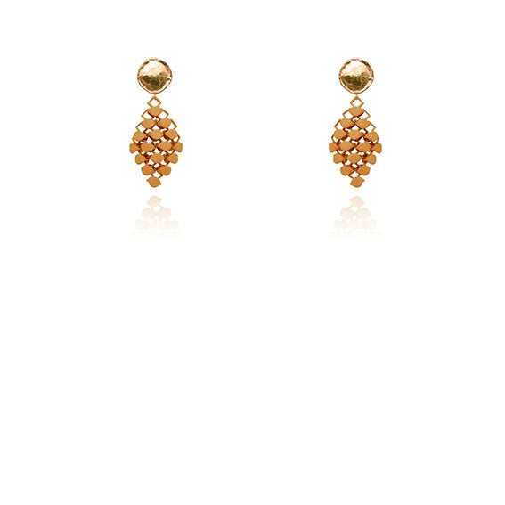 FABNORA | Amber Glow | Earrings Mini