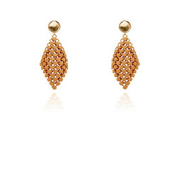 FABNORA | Amber Glow | Earrings S