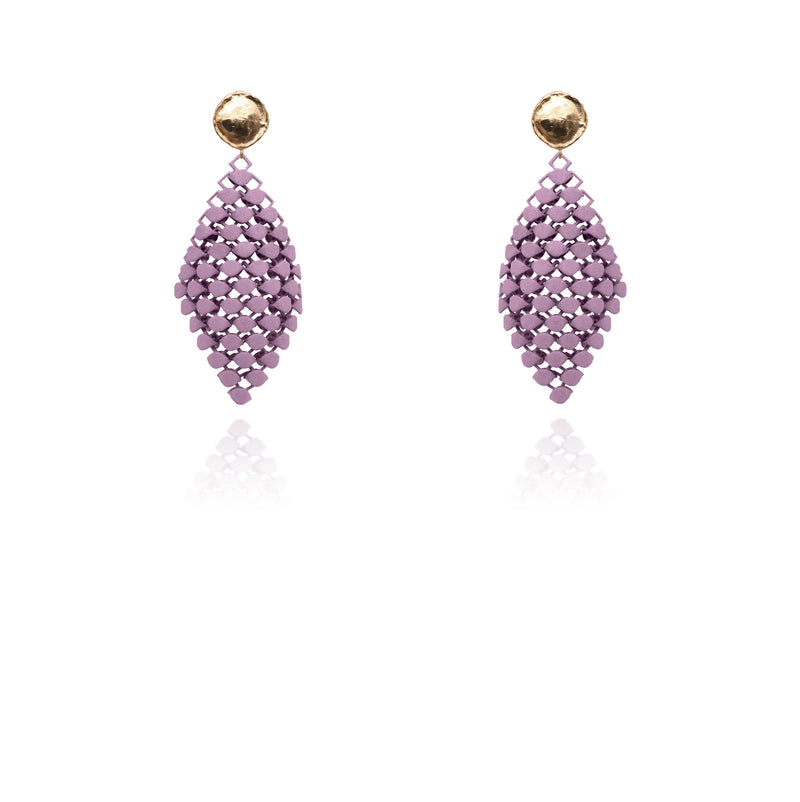 FABNORA | Amethyst Violet | Earrings S