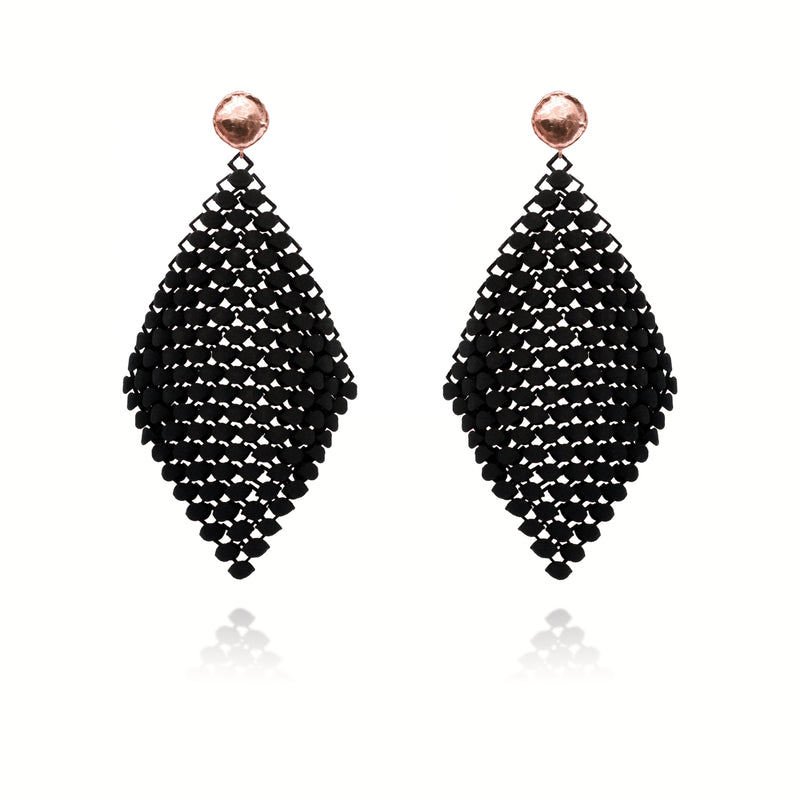 FABNORA | Onyx Black | Earrings L