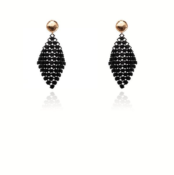 FABNORA | Onyx Black | Earrings S