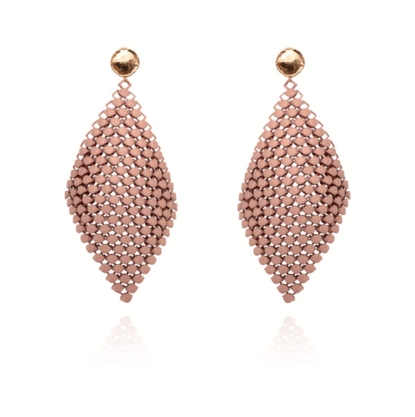 FABNORA | Classic Beige | Earrings L