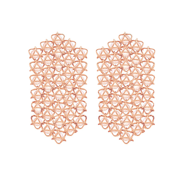 EMBRACE COUTURE TOKYO CHERRY BLOSSOM Waterfall Earrings