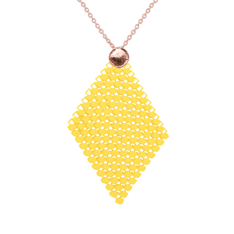 FABNORA AMALFI | Citrine Yellow | Necklace L