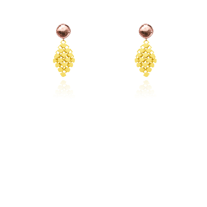 FABNORA | Citrine Yellow | Earrings Mini