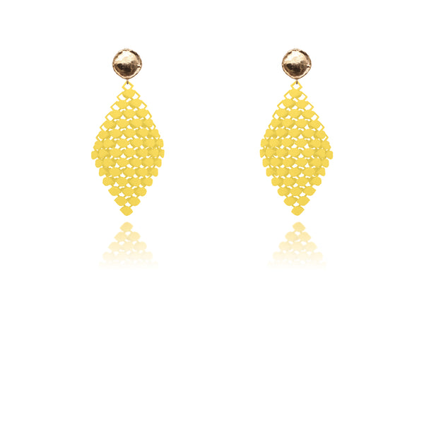 FABNORA | Citrine Yellow | Earrings S