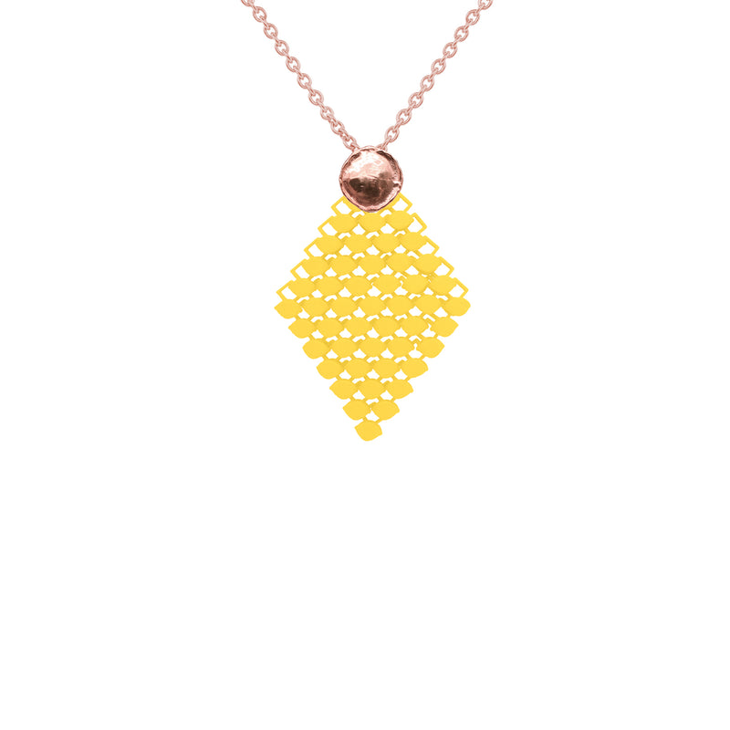 FABNORA AMALFI | Citrine Yellow | Necklace S
