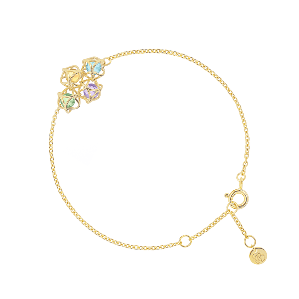 EMBRACE AMALFI COAST Cloud Bracelet 18ct Yellow Gold