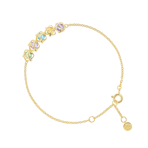 EMBRACE AMALFI COAST 5-Star Bracelet 18ct Yellow Gold