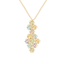 EMBRACE AMALFI COAST Couture Necklace 18ct Yellow Gold