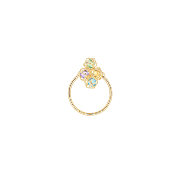 EMBRACE AMALFI COAST Cloud Ring 18ct Yellow Gold