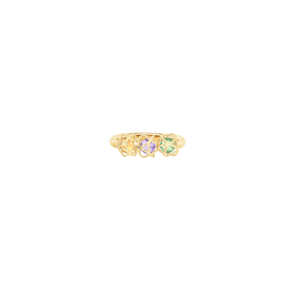 EMBRACE AMALFI COAST 3-Star Ring 18ct Yellow Gold