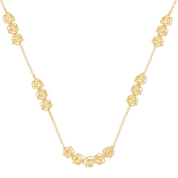 EMBRACE TUSCANY SUNSET Multi-Star Necklace 18ct Yellow Gold