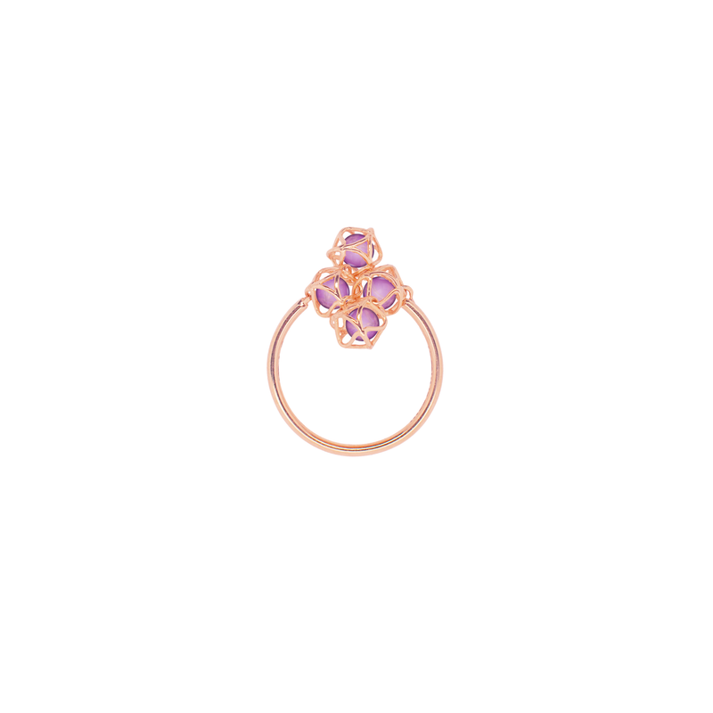 EMBRACE VIENNA ROYAL Cloud Ring 18ct Rose Gold
