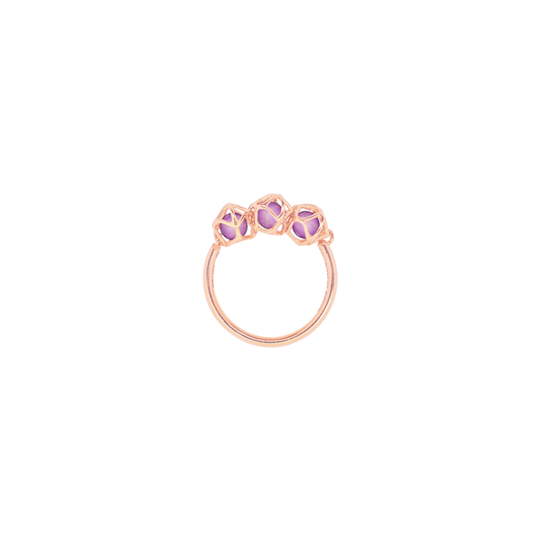 EMBRACE VIENNA ROYAL 3-Star Ring 18ct Rose Gold