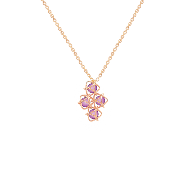 EMBRACE VIENNA ROYAL Cloud Necklace 18ct Rose Gold