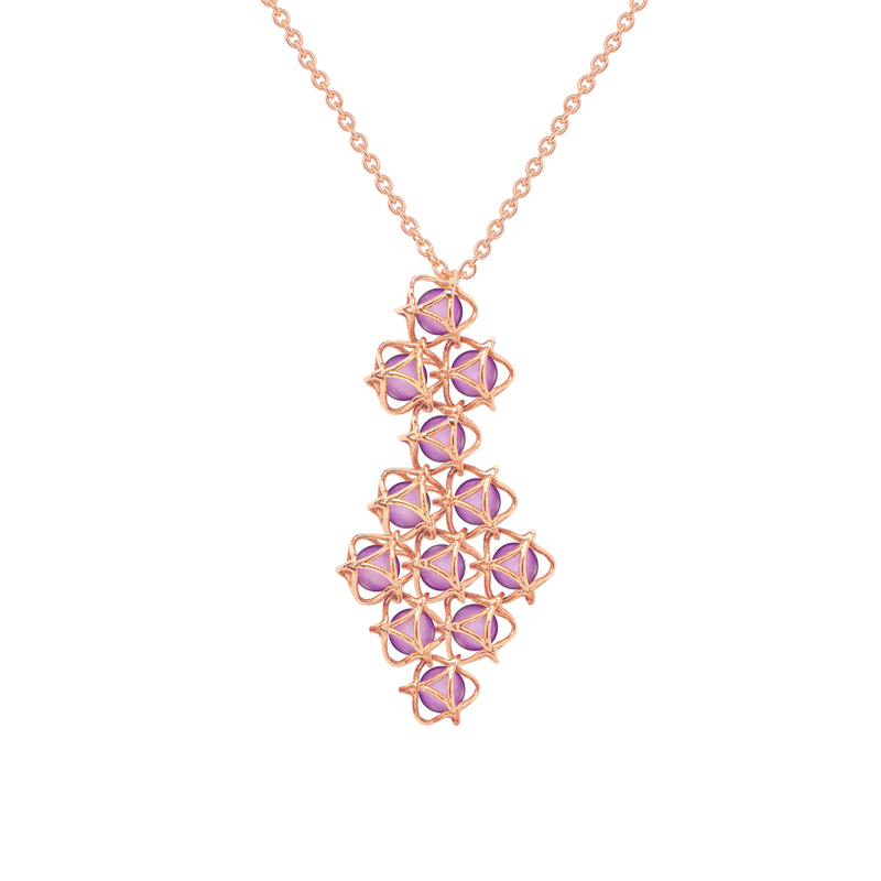 EMBRACE VIENNA ROYAL Couture Necklace 18ct Rose Gold