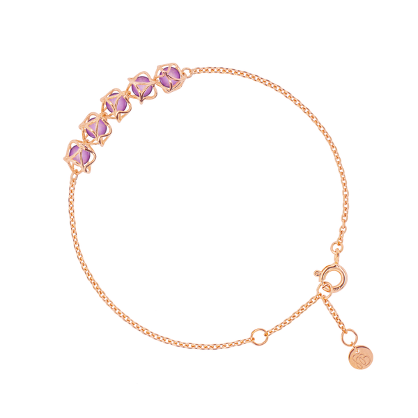 EMBRACE VIENNA ROYAL 5-Star Bracelet 18ct Rose Gold