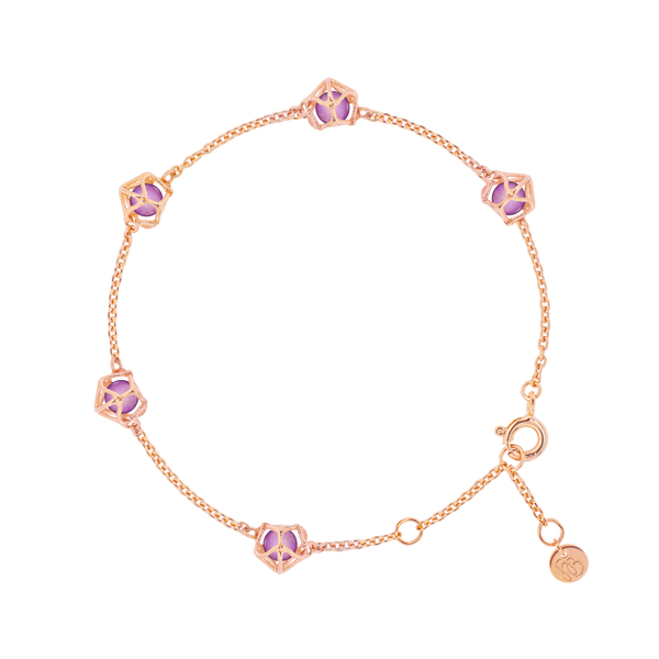 EMBRACE VIENNA ROYAL Multi-Star Bracelet 18ct Rose Gold