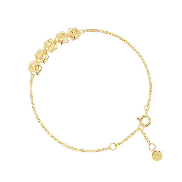 EMBRACE TUSCANY SUNSET  5-Star Bracelet 18ct Yellow Gold