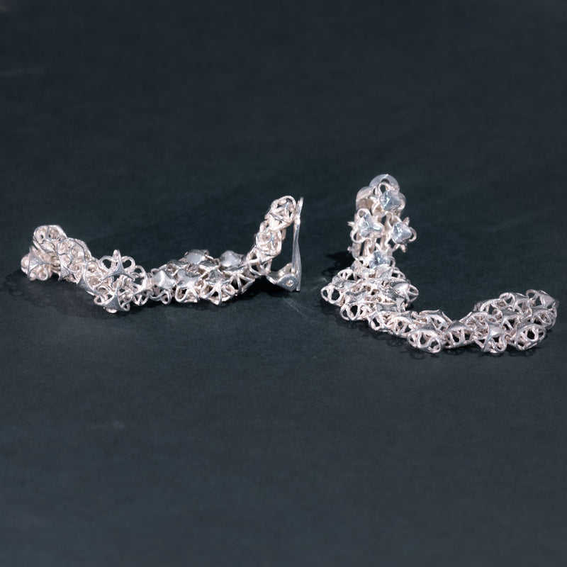 AFFINITY SILVER Couture Earrings