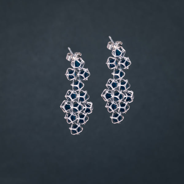 EMBRACE SILVER Couture Earrings 4 mm