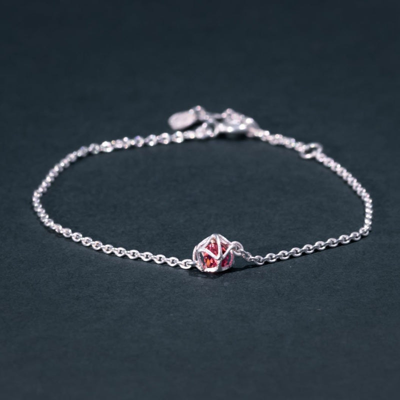 EMBRACE SILVER Star Bracelet 4 mm