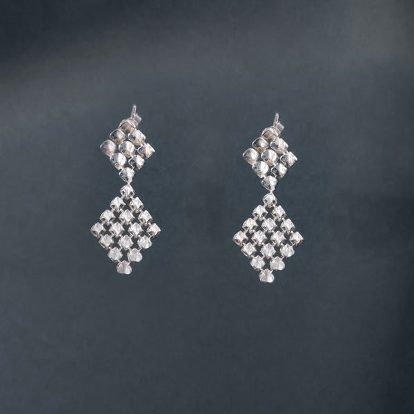 RESONANCE SILVER Couture Earrings