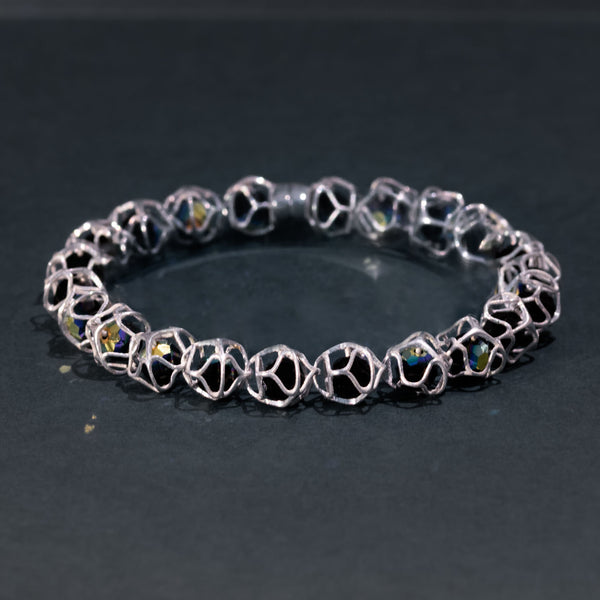 EMBRACE SILVER 1-Row Bracelet 6 mm