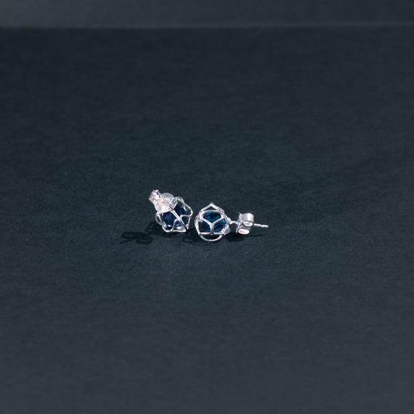 EMBRACE SILVER Star Earrings 6 mm