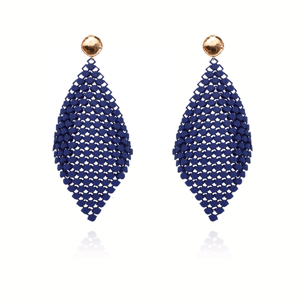 FABNORA | Marine Blue | Earrings L