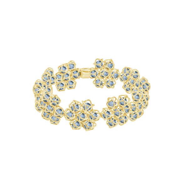 EMBRACE COUTURE LONDON SKY Flower Bracelet