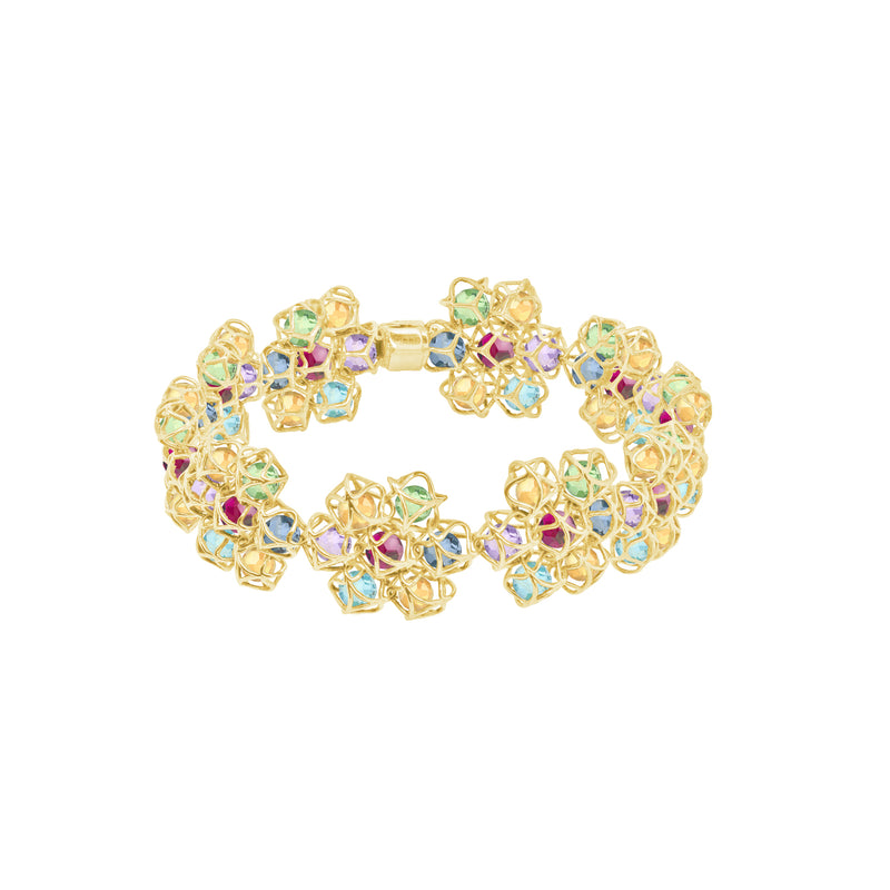 EMBRACE COUTURE MONTREAL LEAVES Flower Bracelet