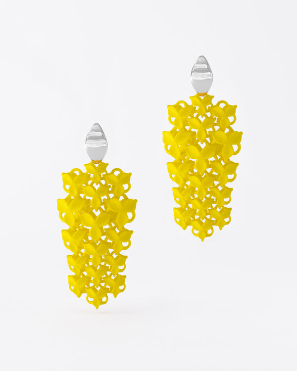 FABNORA Blossom | Citrine Yellow | Earrings Small