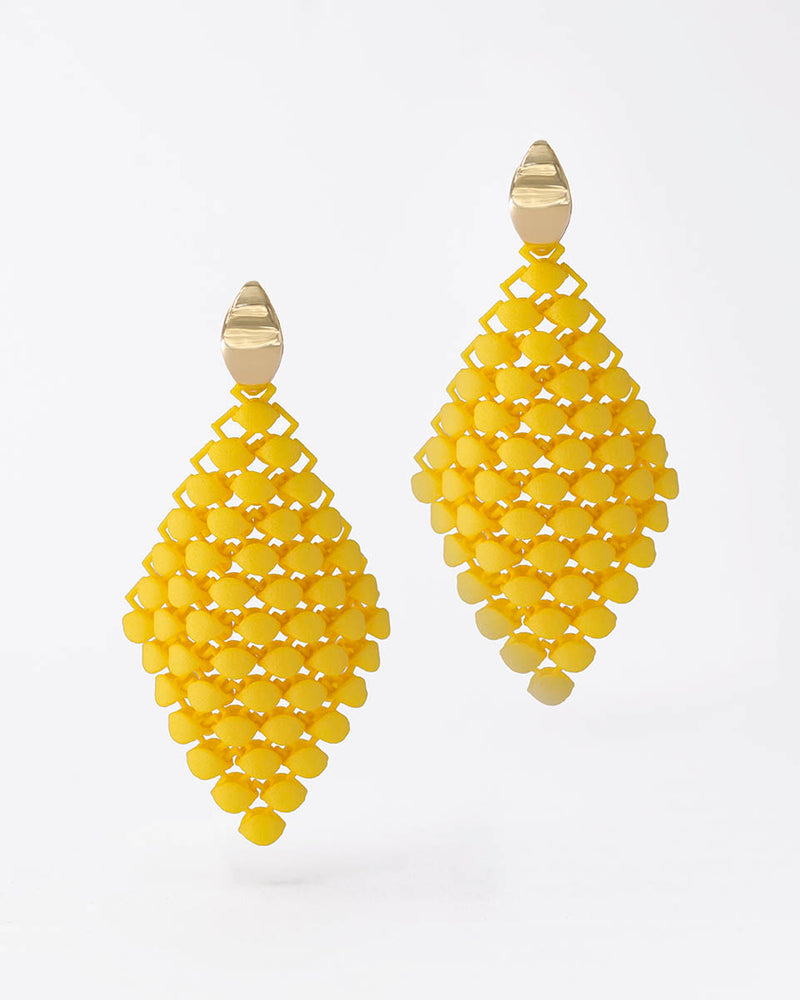 FABNORA Essence | Citrine Yellow | Earrings Small