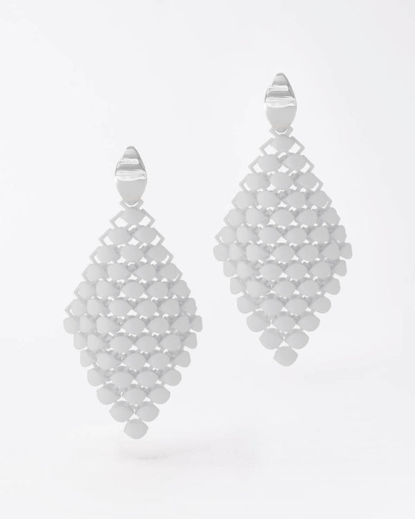 FABNORA Essence | Cotton White | Earrings Small