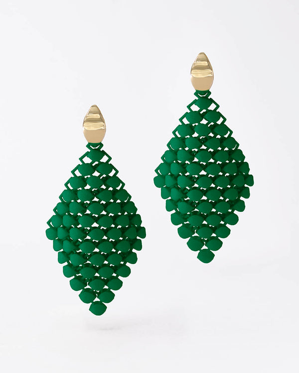 FABNORA Essence | Forrest Green | Earrings Small