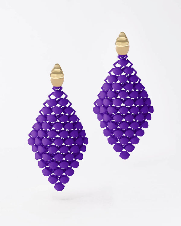 FABNORA Essence | Popping Purple | Earrings Small