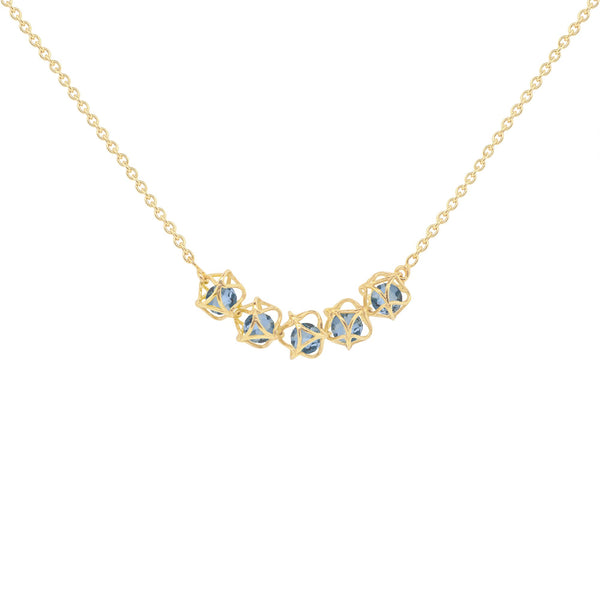 Designer necklace EMBRACE LONDON SKY 5-Star Necklace - Boltenstern