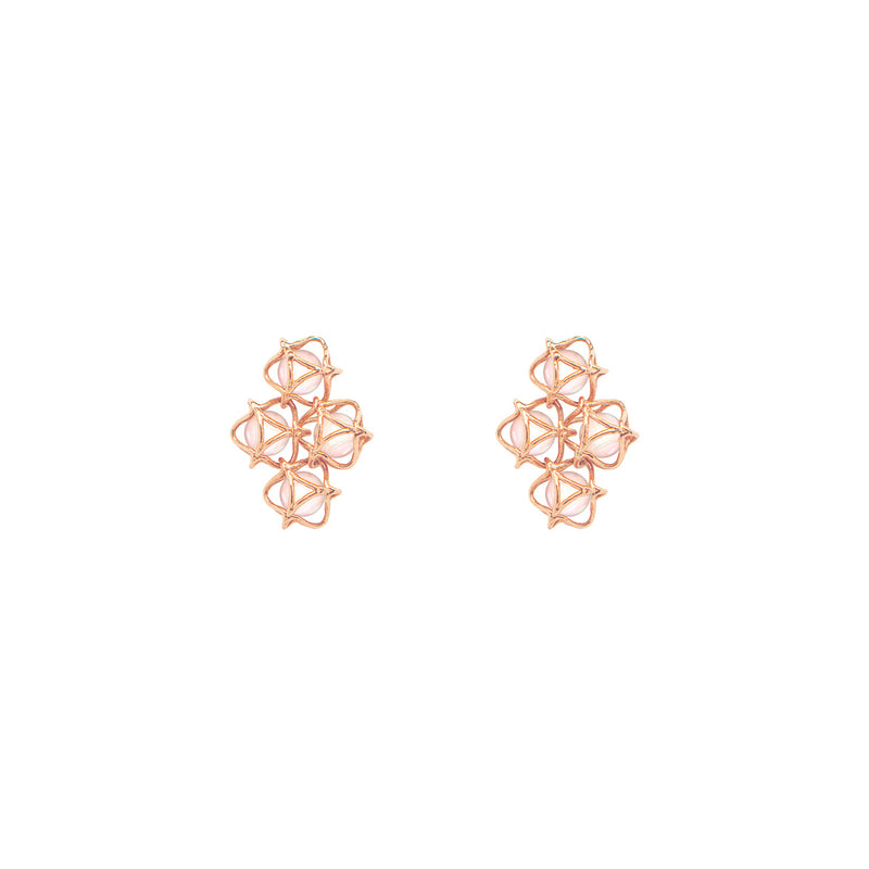 EMBRACE TOKYO CHERRY BLOSSOM Cloud Earrings