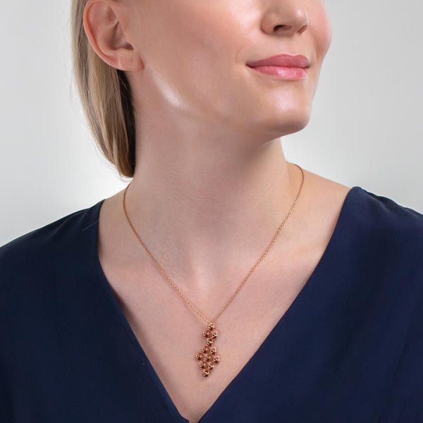 EMBRACE HONG KONG Couture Necklace 18ct Rose Gold