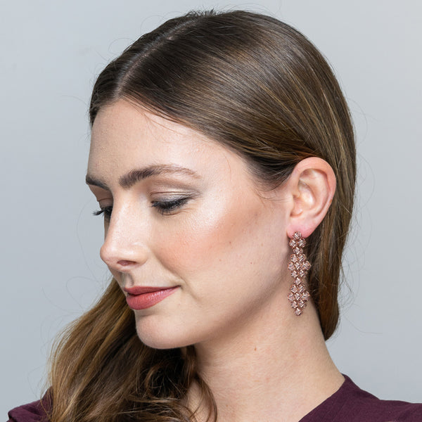 EMBRACE COUTURE TOKYO CHERRY BLOSSOM Contessa Earrings