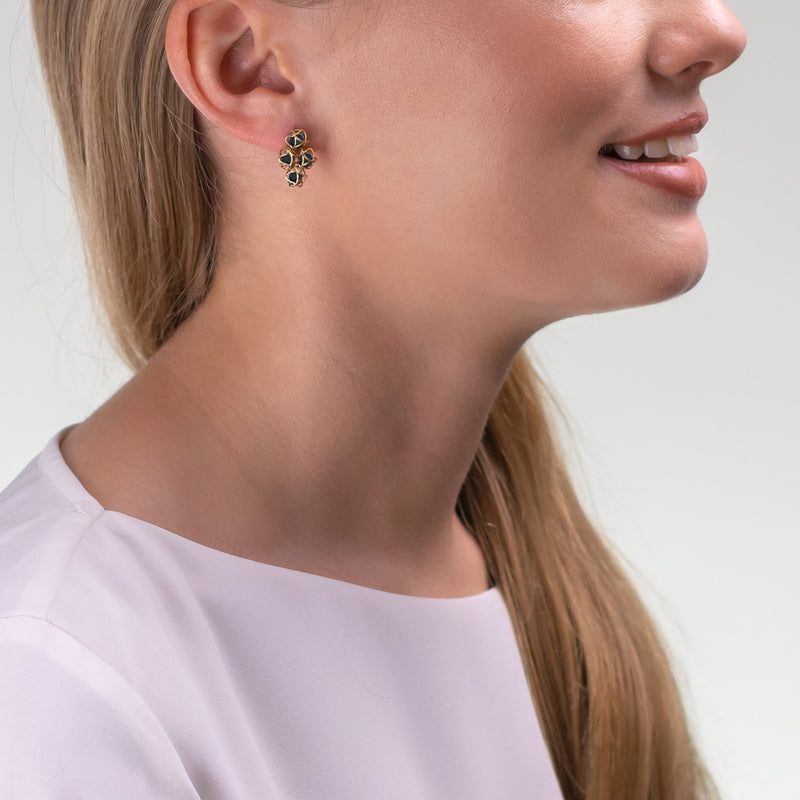 Designer earrings EMBRACE LONDON SKY Cloud Earrings - Boltenstern