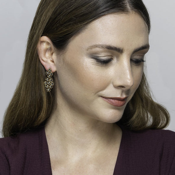 Designer earrings EMBRACE LONDON SKY Couture Earrings - Boltenstern