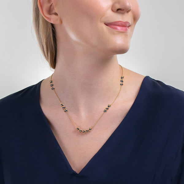Designer necklace EMBRACE LONDON SKY Multi Star Necklace - Boltenstern
